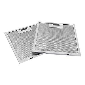 2x 5 Layers Aluminum Filter