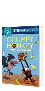 Grumpy Monkey Ready, Set, Bananas! by Suzanne Lang; Illustrated by Max Lang