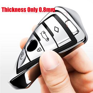 This Car key Case for BMW is make of Soft TPU material