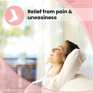 Relief from pain and uneasiness