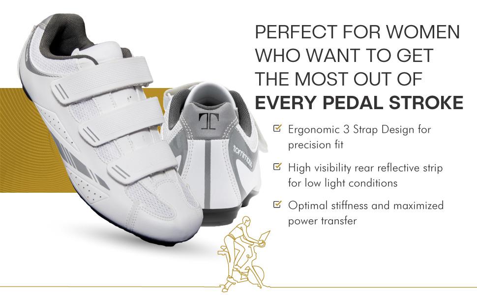 tommaso pista 100 white women's cycling shoes shoes women biking spin indoor cycling