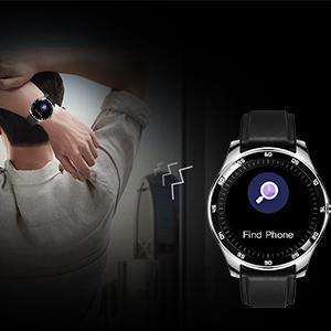 Rogbid GT Smart Watch Fitness Tracker  find phone