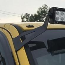 52 inch light bar brackets, curved light bar mounting brackets, F150 roof mount brackets