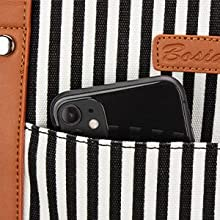 Invisible Front Pocket Design