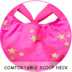 Comfortable scoop neck