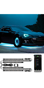 Automotive Neon Accent Light Kits