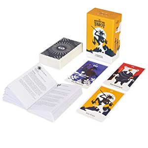 78 tarot card set and guidebook for beginners and experts