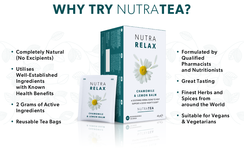 NutraRelax - Why NutraTea?