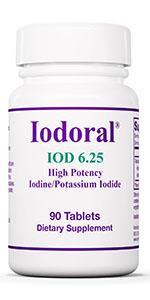 Optimox Iodoral 6.25mg