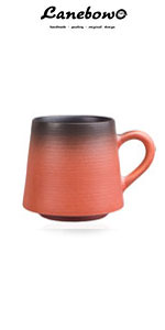 Gradient coffee cup set of 3