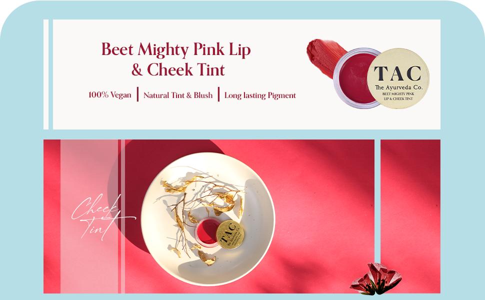 TAC - The Ayurveda Co. Beetroot Lip Tint