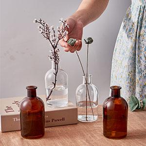 Short Wide Vase Bottle