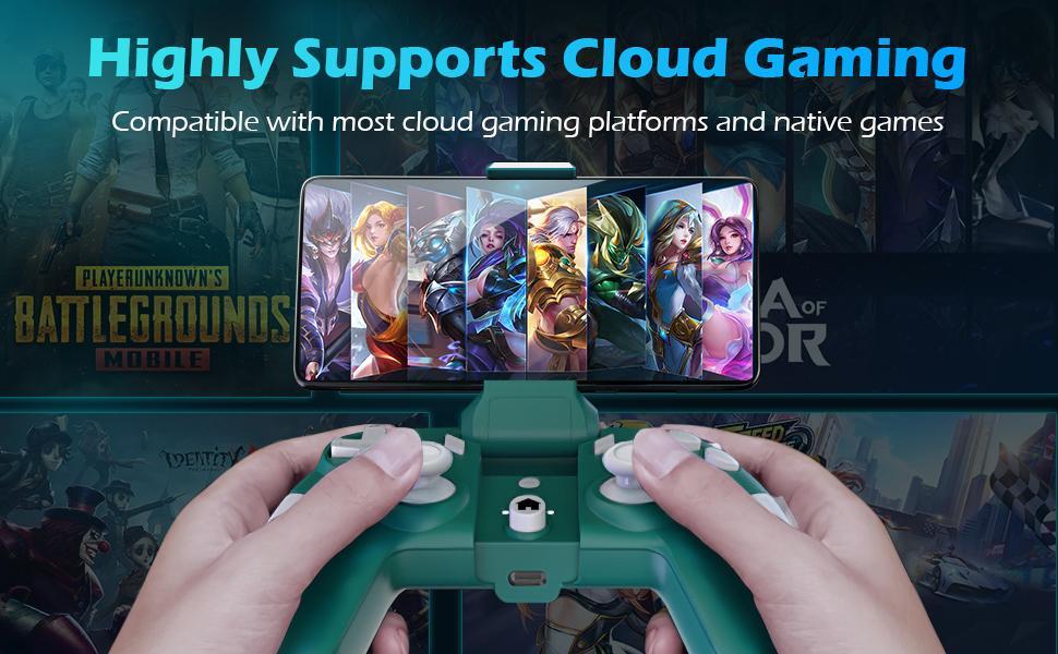 cloud gaming gamepad