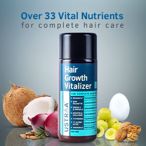 Over 33 Vital Nutrients for complete hair care