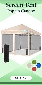 10x10 pop up canopy tent