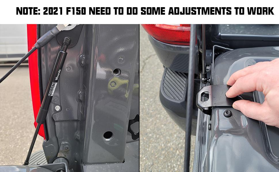 2021 f150 tailgate assist