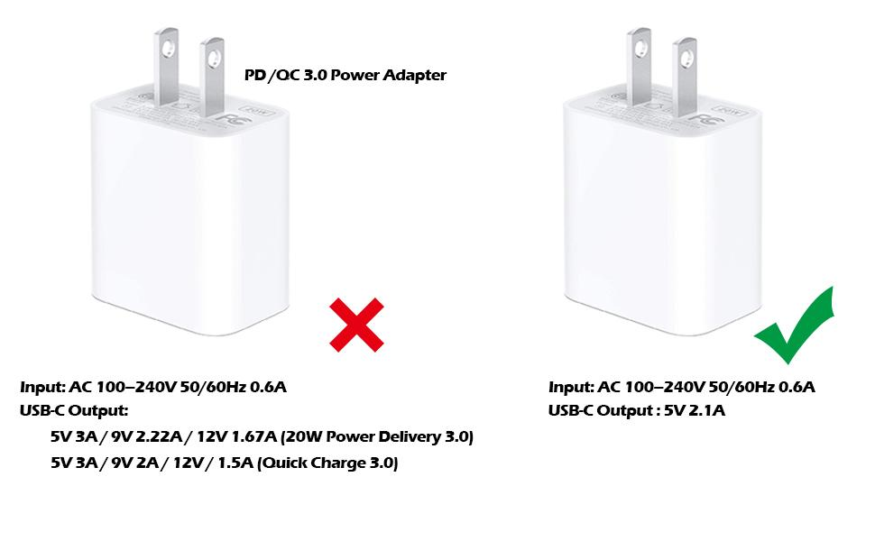 5v 2.1A power adapter