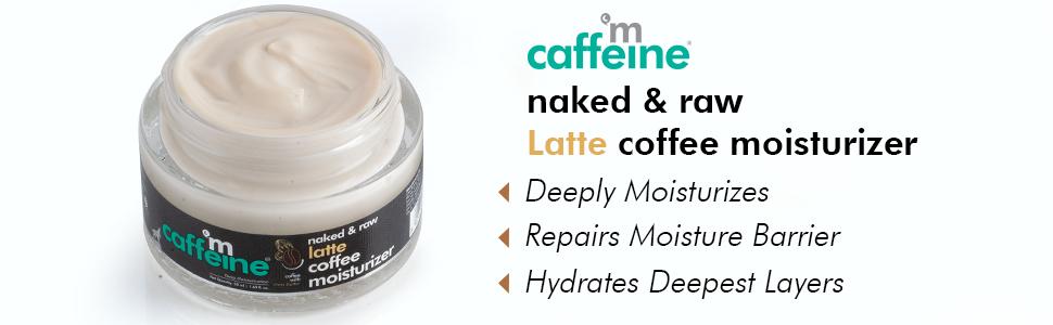 mCaffeine Naked & Raw Latte Coffee Moisturizer