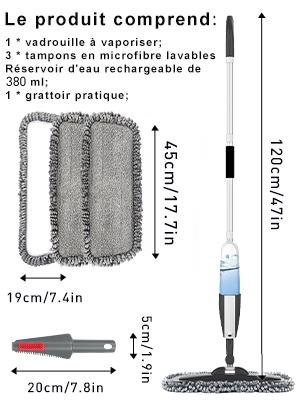 spray mop