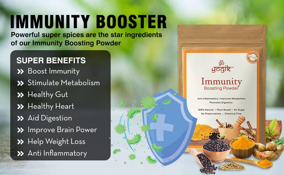 Go-Yogik Immunity Booster - (Spice based)