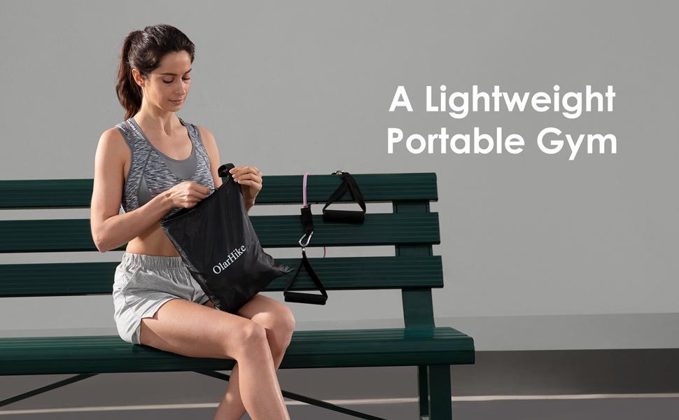 a lightweight portable gym