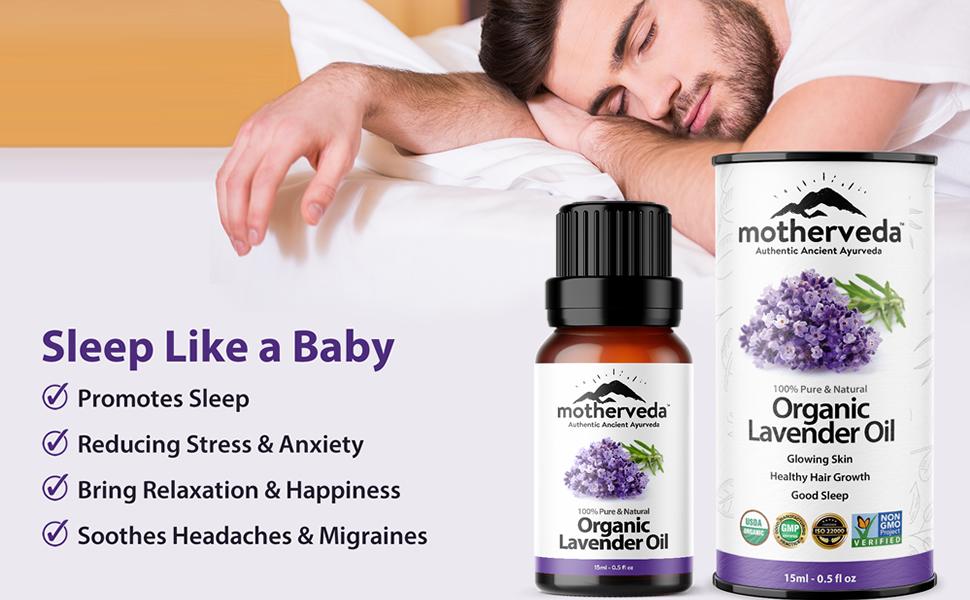 Promotes Sleep & Reducing Stress