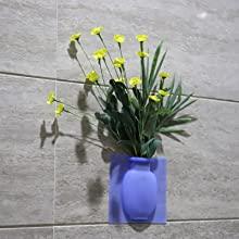 Silicon flower pot