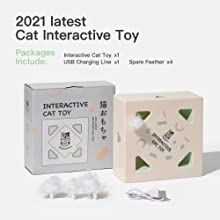 Mewoofun Interactive Cat Toys 7