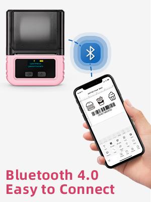 bluettooth label printer