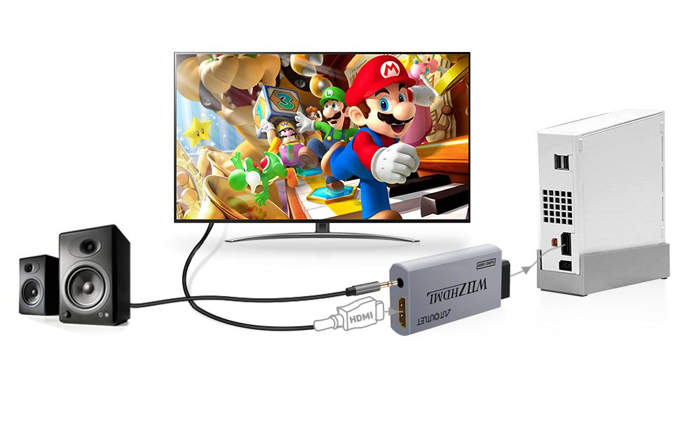 wii adapter hdmi for smart tv