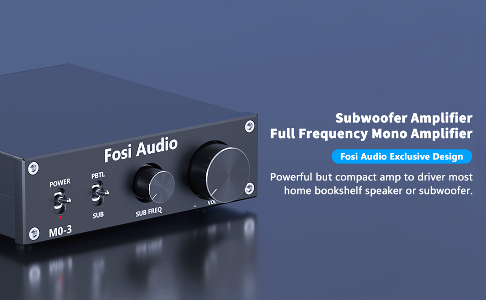 M03 Subwoofer Amplifier Full-Frequency Mono Amp
