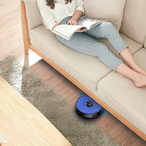 Noiseless Drive Cleaning Robot