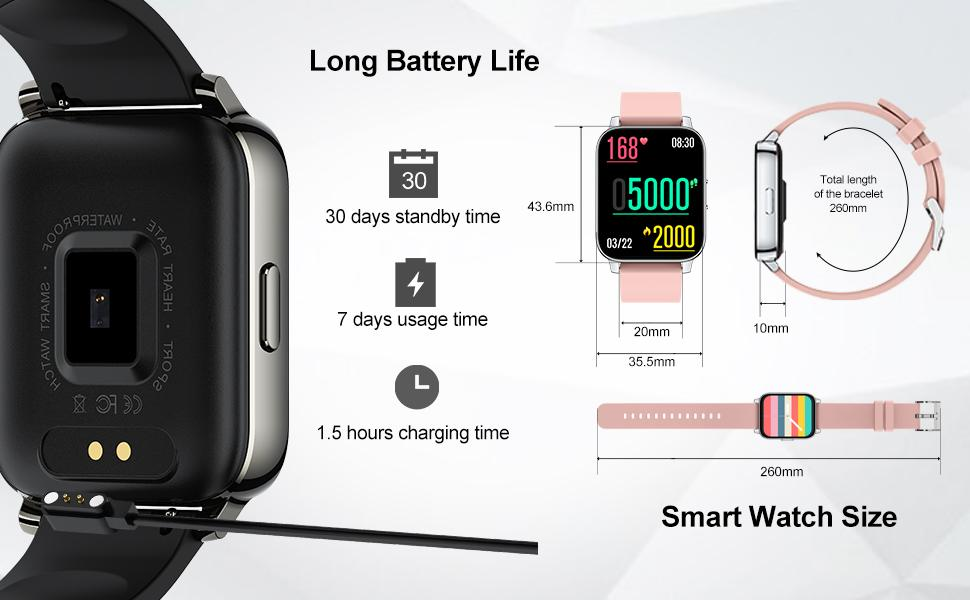 Large Battery Capacity, Easy to Charge