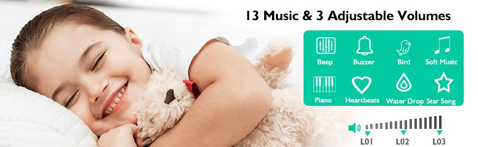väckarklocka för barn
