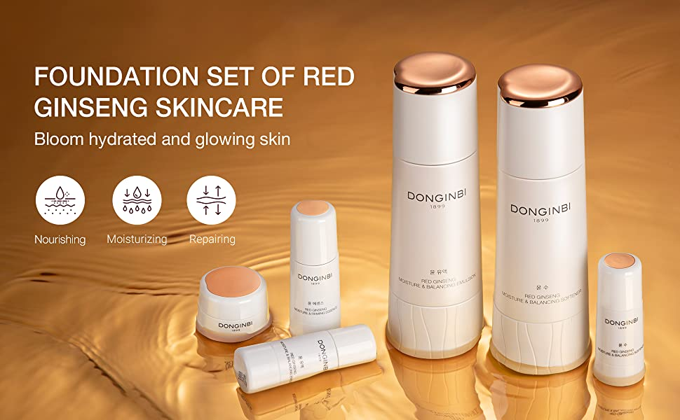 Foundational Set to Red ginseng skincare