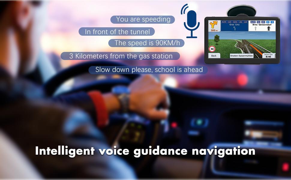 GPS Navigation for Car