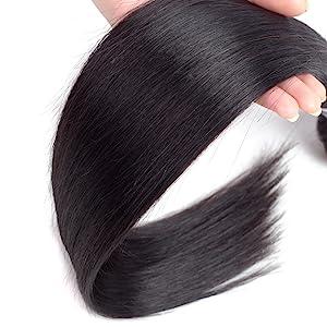 Human Hair Straight Weave Bundles