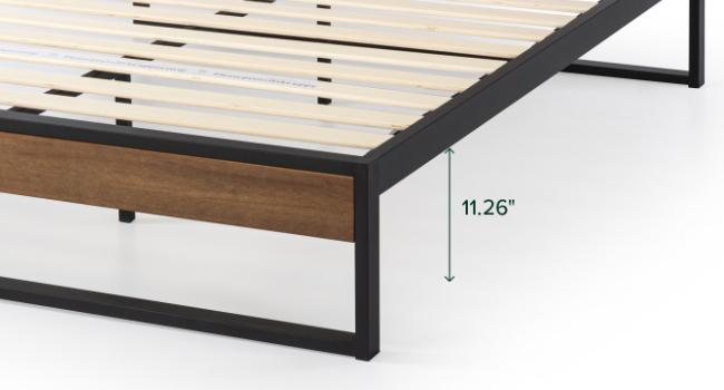 Suzanne Platform Bed Frame Underbed Clearance