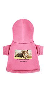 Custom pet hoodie