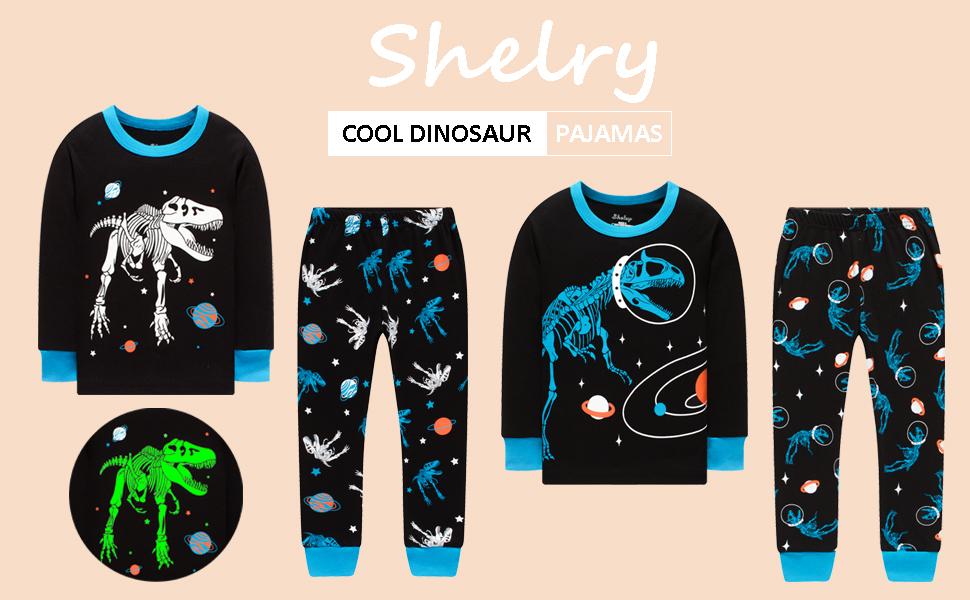 boys glow in the dark pajamas