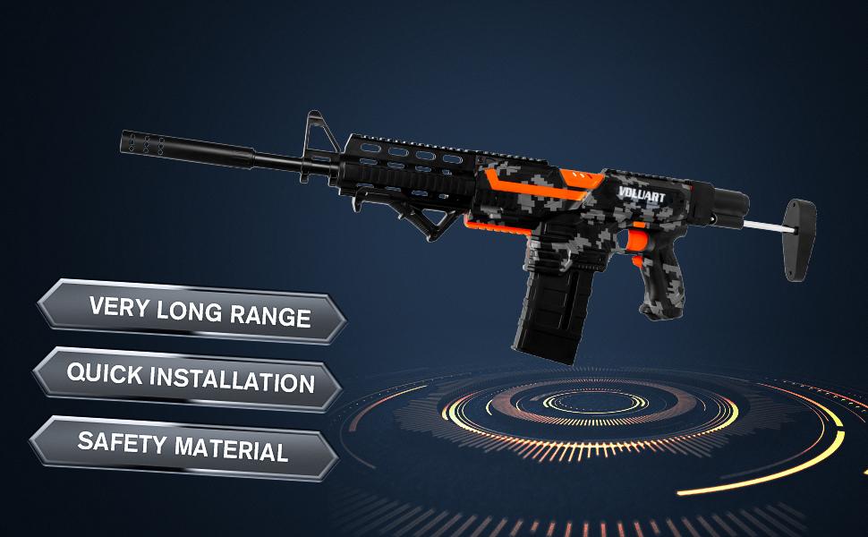 foam blaster toy guns