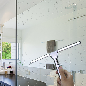 clean glass wall