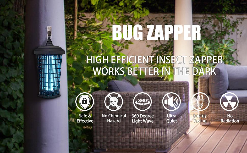 outdoor bug zapper