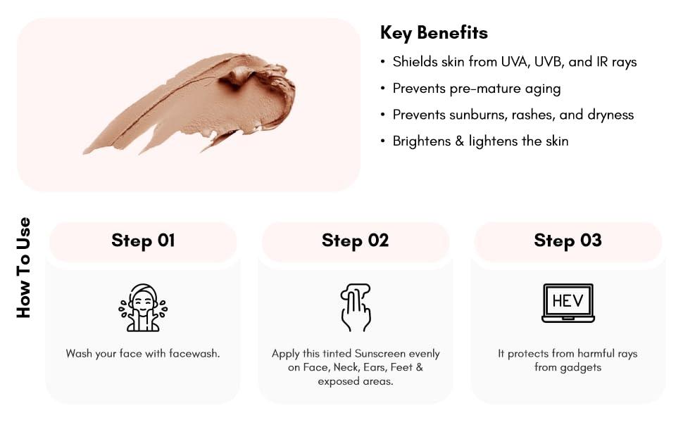 Uniqaya Sunscreen SPF 50 face cream