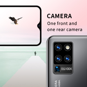 It has a front camera and a rear camera