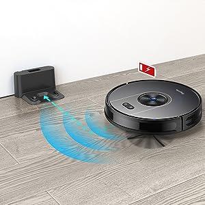 Self-Charging Robotic Vacuum Cleaner