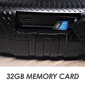 free 32GB TF card