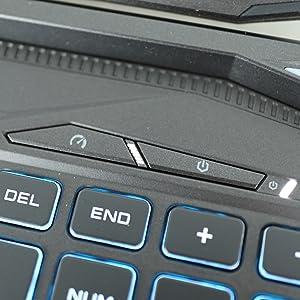 Prometheus XVII Power & Mode Buttons