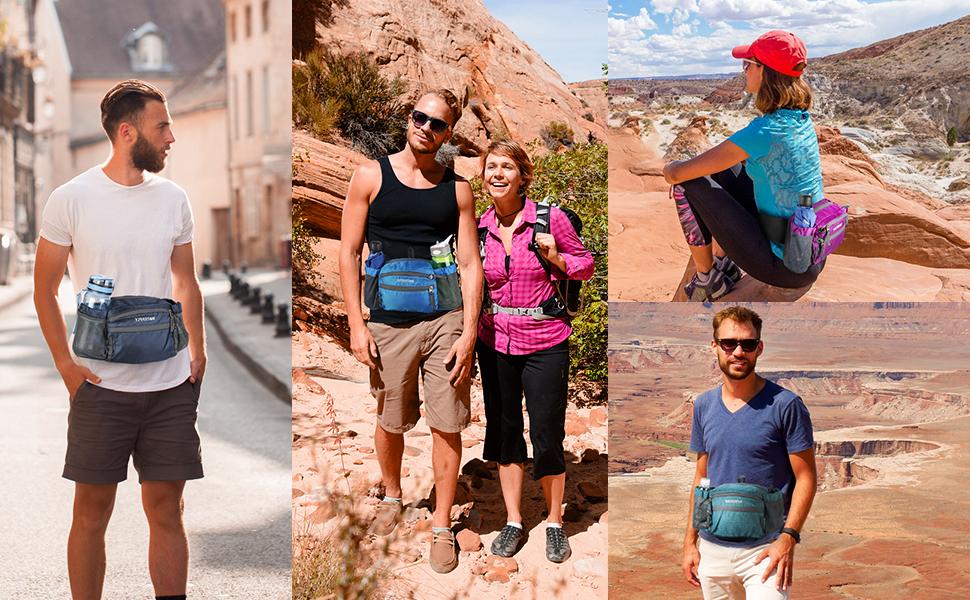 running hiking waist bag