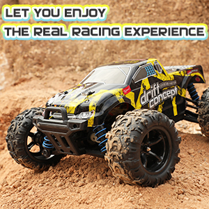 RC car 1:18 scale 4WD off-road remote control car drift concept electric toys RC monster truck fast